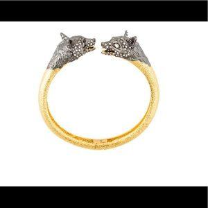 Alexis bittar fox head cuff bracelet NEW